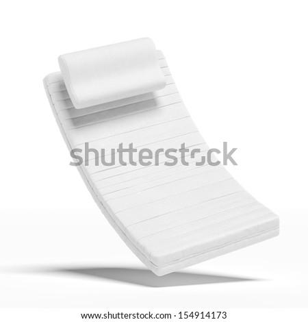 mattress with a pillow