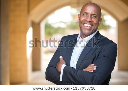 Mature African American Businessman