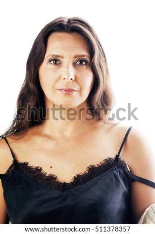 free photos portrait of a sexy woman well dressed in black, isolated