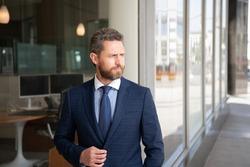 mature businessperson in formalwear. business success. successful man