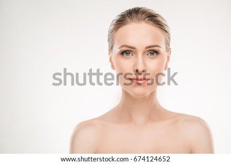 mature woman beauty health care ...