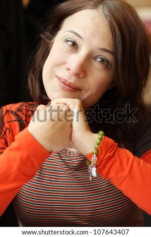 Mature woman, 40 s beauty