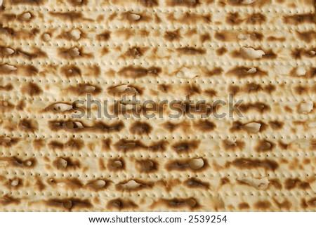 Matzah texture