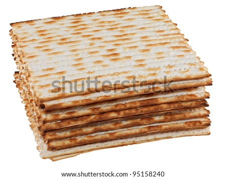 Matzo (or matzah) is bread traditionally eaten by Jews during the week-long Passover holiday