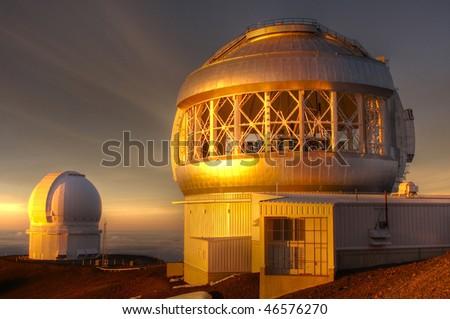 Mauna Kea Geminy Telescope