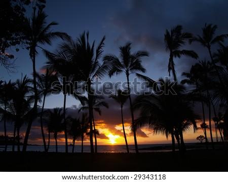Mauna Lani Sunset