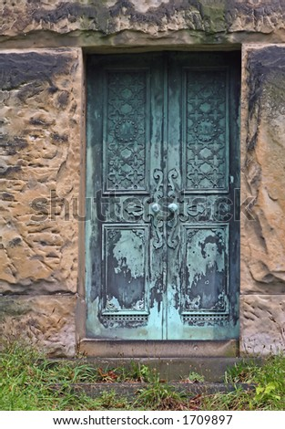 Mausoleum Doors & Mausoleum Doors Stock Photo 1709897 : Shutterstock Pezcame.Com