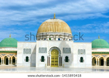Mausoleum of Habib Bourguiba - the first President of Tunisia. Monastir, Tunisia #1415893418