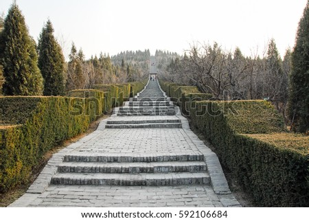 Shutterstock Mausoleum of the First Qin Emperor in Xian, China