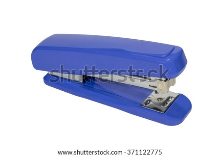 Max stapler isolated white background with path