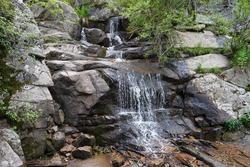 Maxwell Falls in Evergreen, Colorado