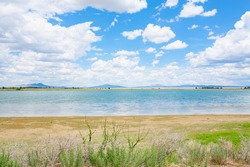Maxwell National Wildlife Refuge in sunny July, New Mexico in USA