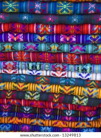 Mayan Blankets For sale in Chiapas, Mexico