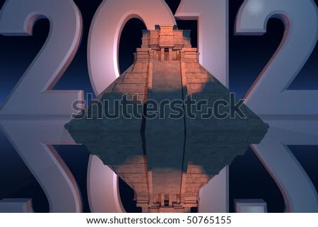 Mayan Prophecies - stock photo