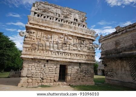 Mayan pyramid in Chichen Itza - Mexico