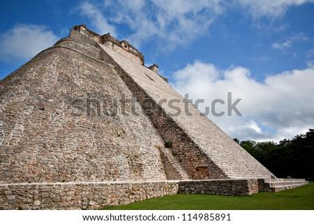 Mayan pyramid, Uxmal, Mexico