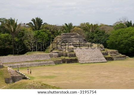 Mayan Ruins at Altun Ha, Belize
