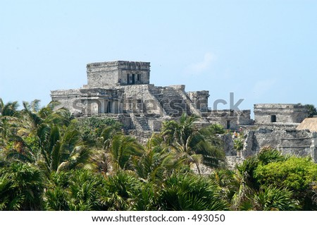 Mayan Ruins of Tulum in Cancun, Mexico