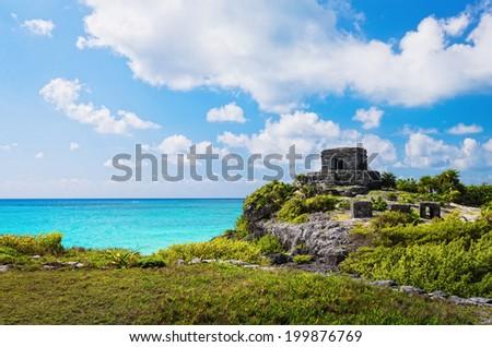 Ruins Location Mayan Ruins of Tulum Located