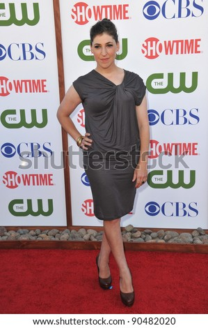 Mayim Bialik, star of The Big Bang Theory, at the CBS Summer 2011 TCA Party at The Pagoda, Beverly Hills. August 3, 2011  Los Angeles, CA Picture: Paul Smith / Featureflash