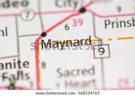 Maynard. Minnesota. USA Zdjęcia stock ©