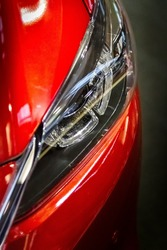 Mazda head light