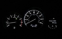 Mazda 6 3rd generation speedometer