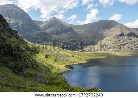 Mcgillycuddy's reeks, Co. kerry, Ireland  Stok fotoğraf ©