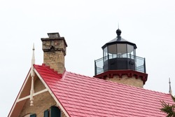 McGulpin Point Light was constructed as a navigational aid through the Straits of Mackinac. The lighthouse began operation in 1869, making it one of the oldest surviving lighthouses in the Straits.