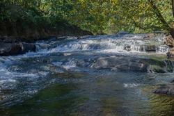 mckeldin rapids waterfalls at patapsco valley park
