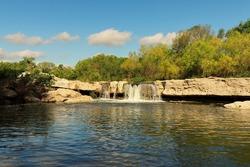 McKinney Falls in Austin Texas
