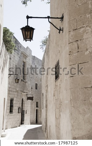 malta old alley houses - photo #18
