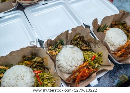 Meal set or meal box