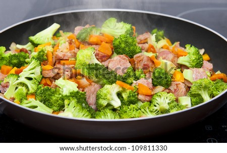 Stock Photo Meal time