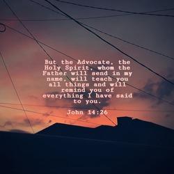 meaningful bible verse of John 14:26