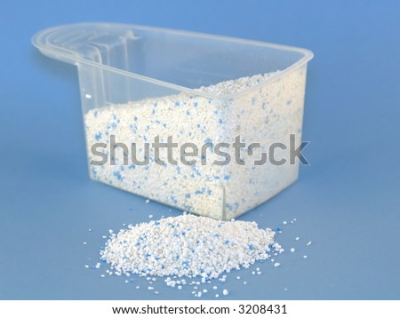 Measure with laundry powder