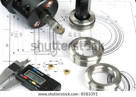 Measuring metal components