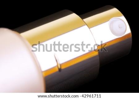 Measuring spray tube