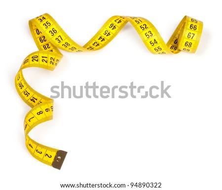 Measuring tape of the tailor for you design #94890322