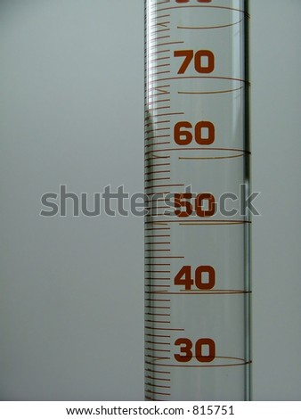 measuring tube