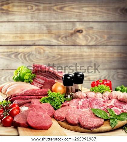 Meat, Freshness, Butcher\'s Shop.