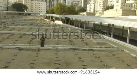 MECCA, SAUDI ARABIA - DEC 28 :Ma'la Muslim graveyard on Dec 28, 2007 in Mecca, Saudi Arabia. Muslim pilgrims who died in Mecca will be buried here.
