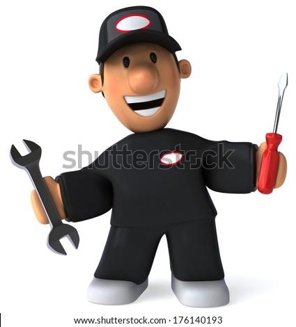 Mechanic Photo stock ©