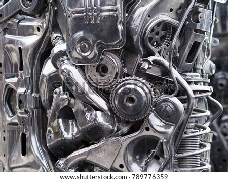 Mechanical concept  about parts of cars   #789776359
