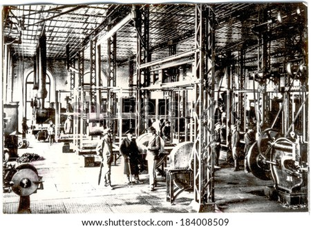 Mechanical plant nineteenth century