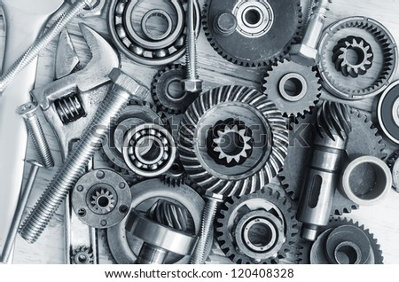 Mechanical ratchets, nuts and bolts
