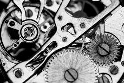 Mechanical watch, close up, gears, mechanical watch repair
