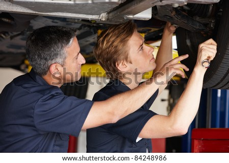 Mechanics at work