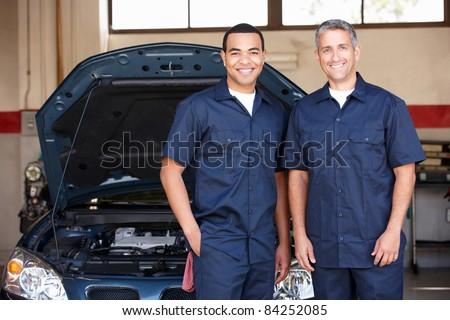 Mechanics at work