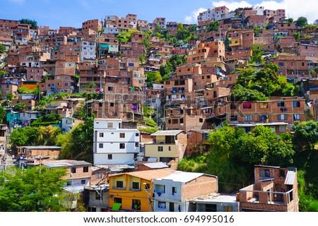Shutterstock Medellin Slums
